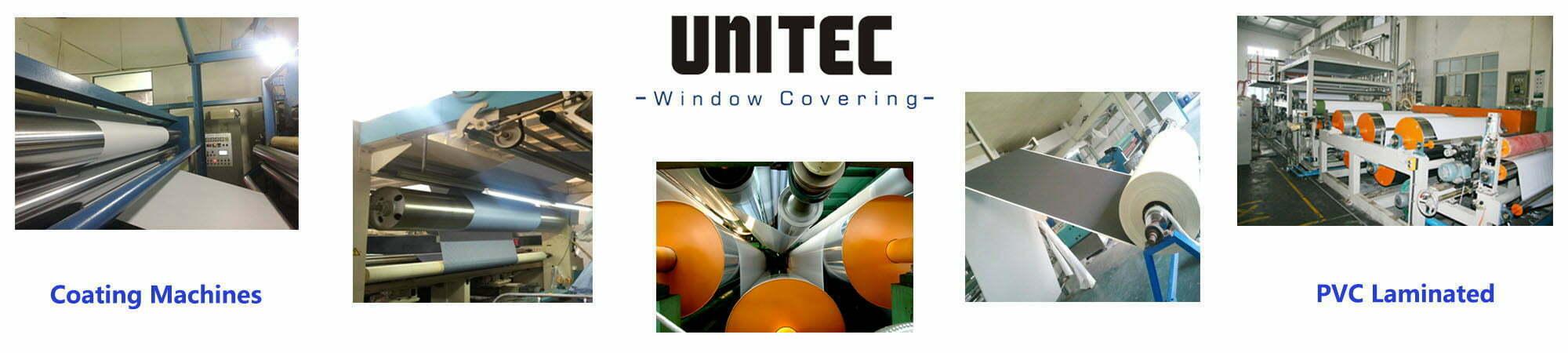 Fabricación, investigación y desarrollo y diseño de telas para ventanas desde 2002.