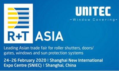 Aviso de aplazamiento: R + T Asia 2020, 24-26 de Febrero 2020
