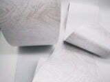 Impresión de tela de cortinas verticales black out de PVC de fibra de vidrio 89 mm / 127 mm