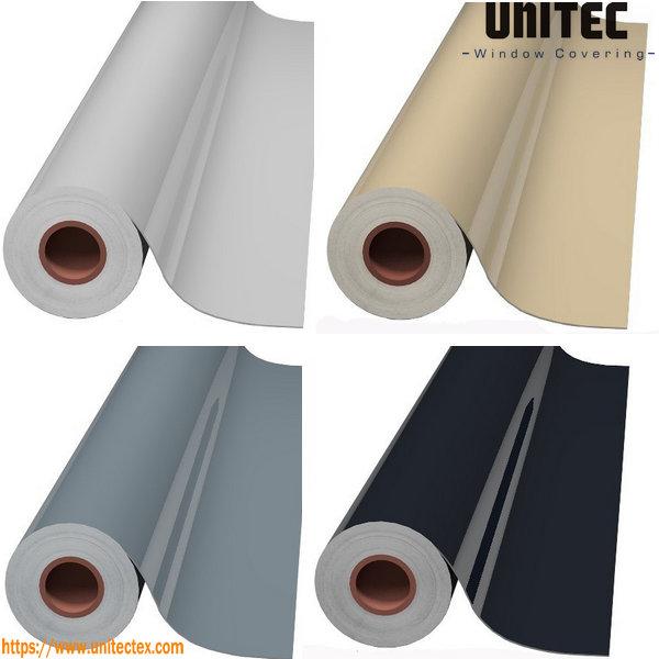 Película de PVC de tela impermeable de persianas enrollables de PVC opacas