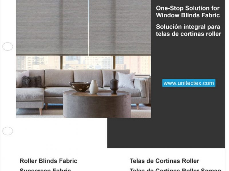 Fabricante de persianas enrollables tejidos